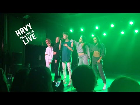 "Hrvy Singing ""told You So"" Live In Copenhagen"