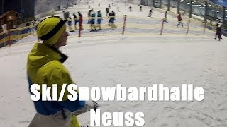 preview picture of video 'Skihalle Neuss Snowboarding'
