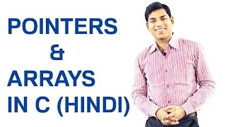 Download Youtube: Pointers and Arrays in C (HINDI)