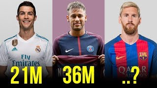 The 10 Highest Paid Players In Football Right Now