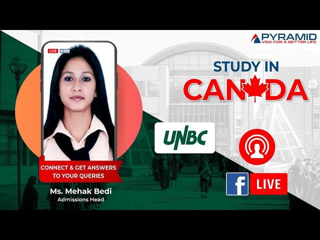 University of Northern British Columbia (UNBC) Facebook-Live!