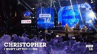 Christopher 'I Won't Let You Down' live fra The Voice '16