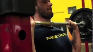 Shoulder Press using the PowerGripPads