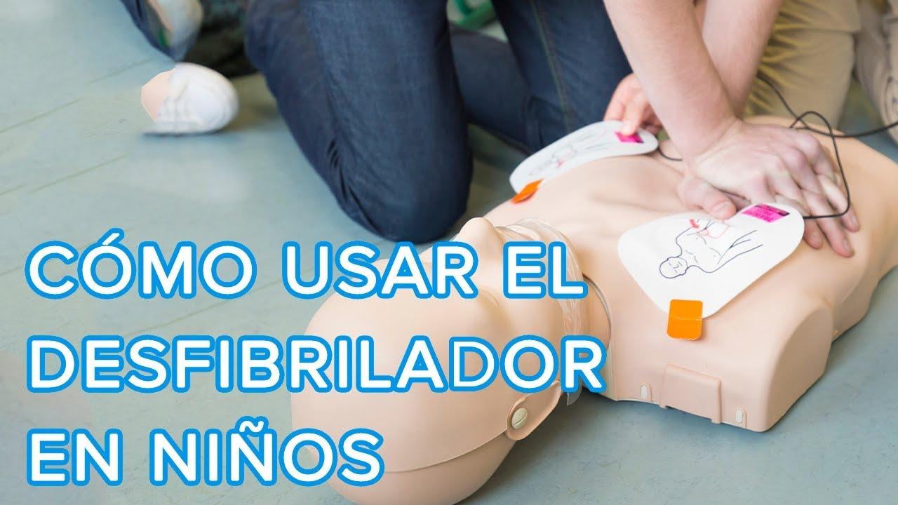 Cómo usar un desfibrilador en niños de 1 a 8 años | Primeros auxilios en niños