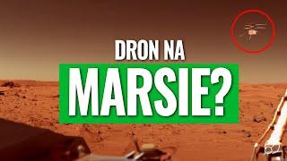 Zamieszanie na Marsie – roboty, dron i sonda