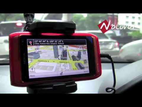 รีวิว Ovi Maps บน มือถือ Nokia N8