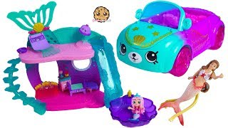 Color Changing Mermaid Shoppies ! Shopkins Happy Places Petkins Car - Video