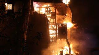Brand in transformatorhuis zet Mijdrecht in het donker