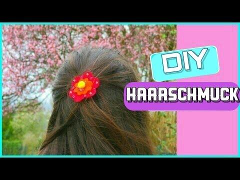 DIY (Kinder)Haarschmuck ❀ | Bastelidee mit Filz