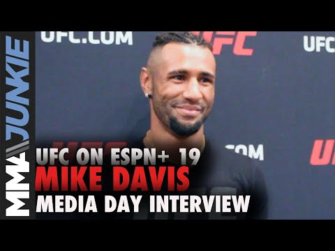 UFC Tampa: Mike Davis media day interview