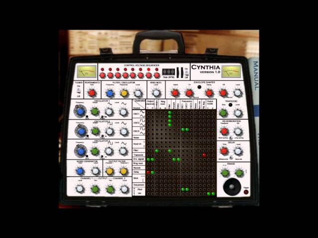 CYNTHIA by NINE COWS  ( best free vst emulation of a EMS synthiA )