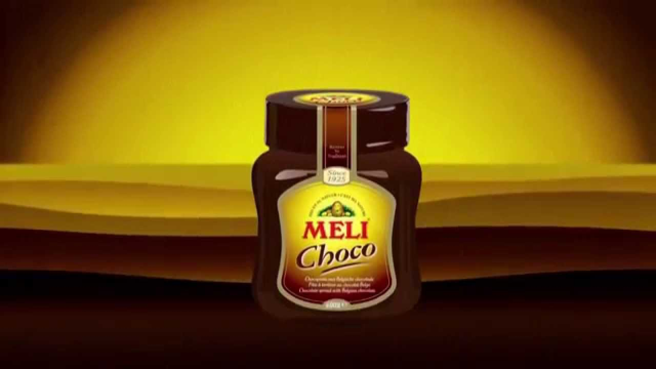 Meli Choco spread - animation