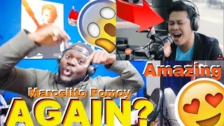 """Marcelito Pomoy Sings """"Power Of Love"""" Celine Dion LIVE On Wish 107 5 Bus Reaction"""