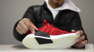 brand new 4e796 9087d adidas-nmd-r2-pk-red-black-unboxing-video-