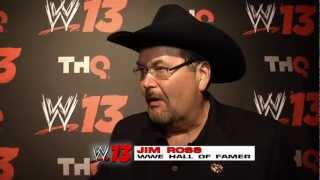 Jim Ross talks about working on WWE '13 Attitude Era Mode