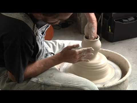 Pottery Making and Raku Firing with Andrew Cummins