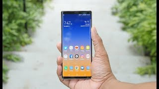 Galaxy Note 9 Review: An Expensive Beast