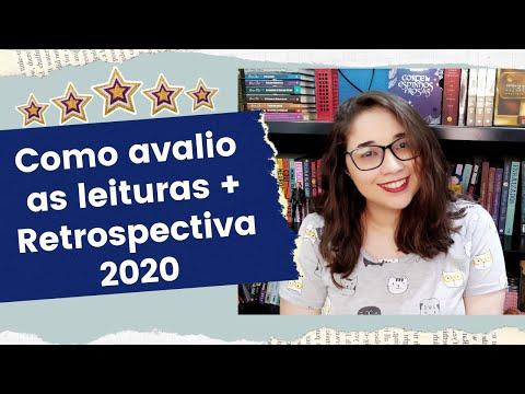 COMO AVALIO MINHAS LEITURAS + RETROSPECTIVA LITERÁRIA 2020 ???| Biblioteca da Rô