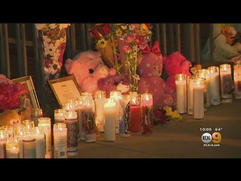 , title : 'Bellflower Community Holds Vigil For 8-Month-Old Alexia Rose Echeverria