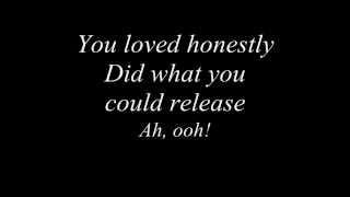 Sia - My Love Lyrics Video.
