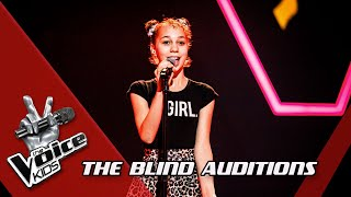 Claire - 'My Boy'   Blind Auditions   The Voice Kids   VTM