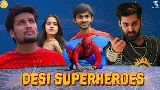 Superheroes celebrating Diwali || feat. Hunny Sharma | Sushant Maggu || Swagger Sharma