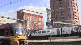 preview picture of video 'Leeds Railway Station, Leeds, West Yorkshire, England - Throughout 2013'
