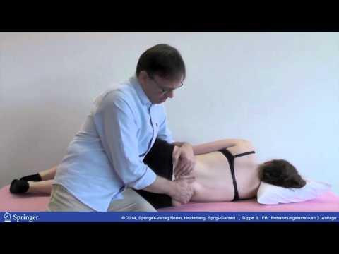 Rückenschmerzen Symptome von Nerven