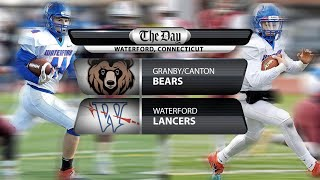 Full replay: Granby/Canton at Waterford in Class M football quarterfinal
