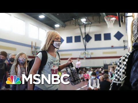 The Debate Over Reopening Schools Continues As More Children Test Positive | Deadline | MSNBC