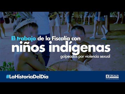 El trabajo de la Fiscalía con niños indígenas golpeados por violencia sexual