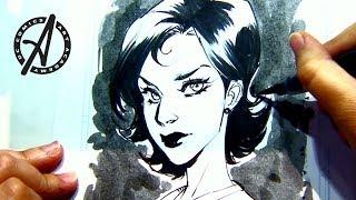 DC Comics Art Academy Featuring Mirka Andolfo