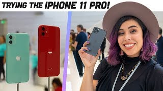 FIRST Apple Special Event + Hands on iPhone11 PRO!