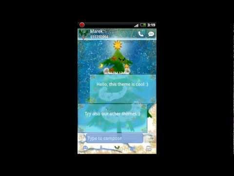 Video of GO SMS Pro Christmas Tree v2