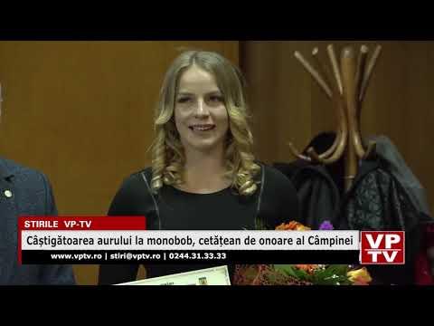 Câștigătoarea aurului la monobob, cetățean de onoare al Câmpinei