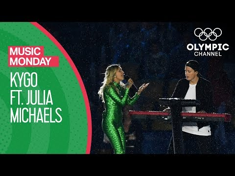 My former student, Julia Michaels, singing  at the 2016 Olympic Closing ceremonies with Kygo.