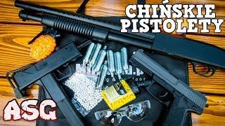 Chińskie Repliki ASG do 150zł 450 FPS!  Pistolety na kulki Test, Recenzja