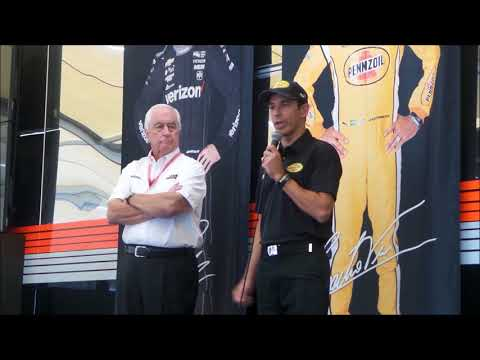 2018 Indy 500 - Team Penske Pre-Race discussion