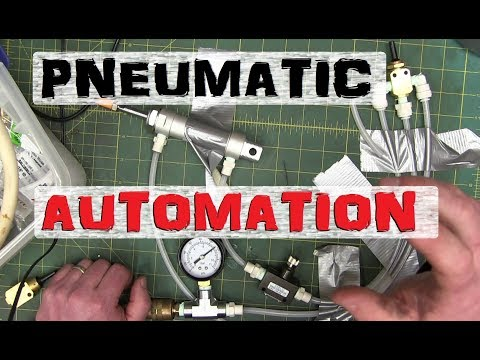 PEW-PEW! Pneumatic Automation | Industrial Lego