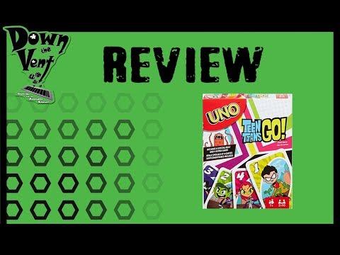 UNO: Teen Titans GO! Review