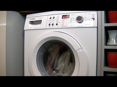 Bosch Serie | 6 WAQ283S1GB Automatic washing machine Review & Demonstration