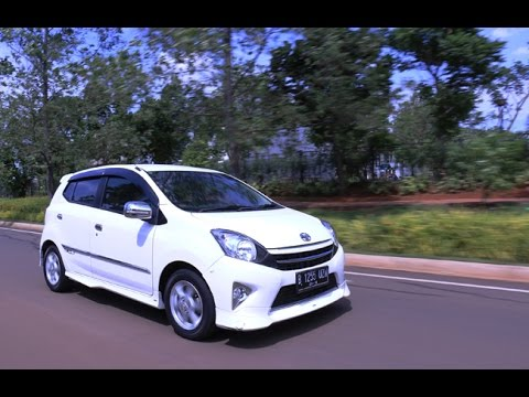 First Drive Astra Toyota Agya TRD S M/T