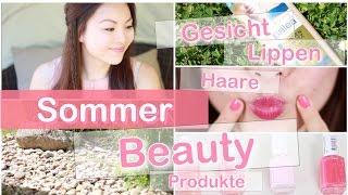 SOMMER BEAUTY ESSENTIALS - Makeup Füsse Haare Nägel | Mamiseelen