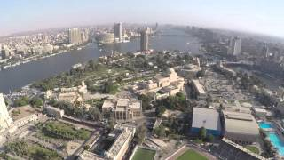View from Cairo Tower, Cairo, Egypt 2015