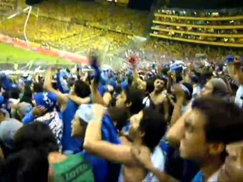 """""""Emelec va a ser Campeòn"""" Barra: Boca del Pozo • Club: Emelec"""