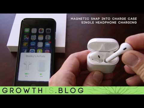 Обзор Apple Charging Case for AirPods