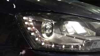 Биксеноновые фары в VW Polo sedan