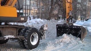 Рейд по уборке снега