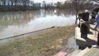 Dioxin threatens Michigan river