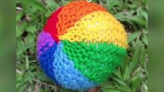 Knitted ball for Beginners